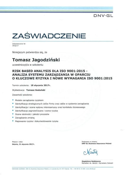 2017 RBA dla ISO 9001 2015 600x600